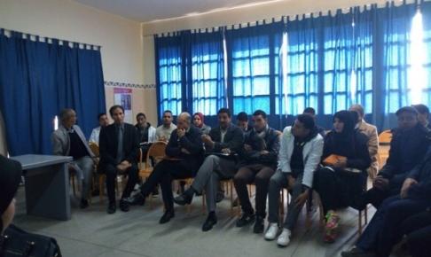 مكناس: جمعية لغة الضاد للتواصل والتنمية تحط الرحال بإعدادية الزهراوي لدعم قدرات التلاميذ التواصلية والإبداعية