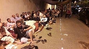 الجامعة الوطنية لموظفي التعليم بجهة فاس مكناس تدخل في اعتصام ليلي تحت فتيل الشموع