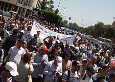 أساتذة التربية الوطنية حاملي الشهادات العليا يعتصمون و ينظمون مسيرة بالرباط يوم 25 يوليوز 2017