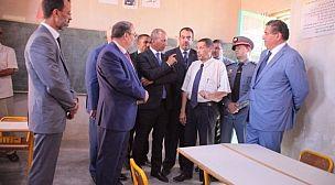 بورزازات: وزير التربية الوطنية و التكوين المهني و التعليم العالي و البحث العلمي يتتبع عملية تأهيل المؤسسات التعليمية