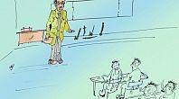 كاريكاتور الفرض المحروس!!